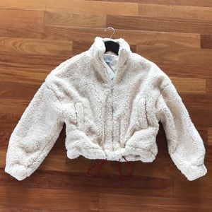New Urban Outfitters Furry Fleece Jacket XS